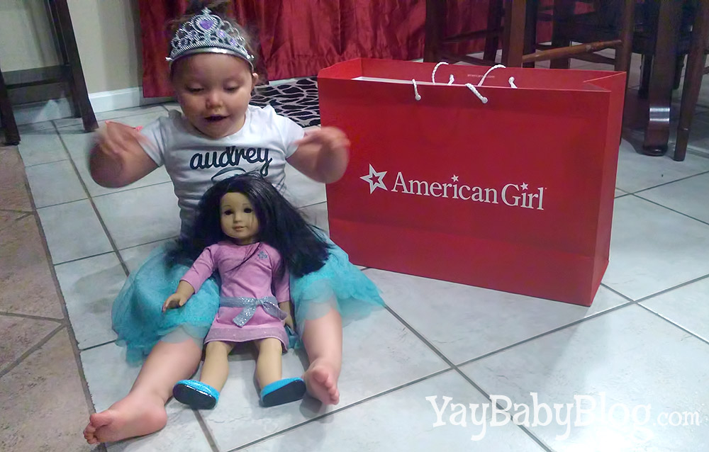 """Max named her new bestie, """"Sugar Bella."""" She came up with that name on her own -- I love it!"""