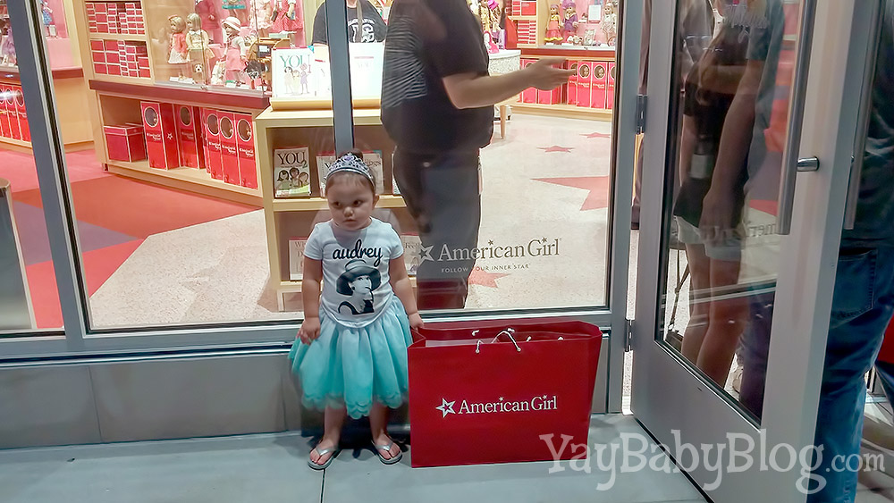 Smile, Jax, you just got your first American Girl doll!