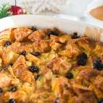 White Chocolate Croissant Bread Pudding