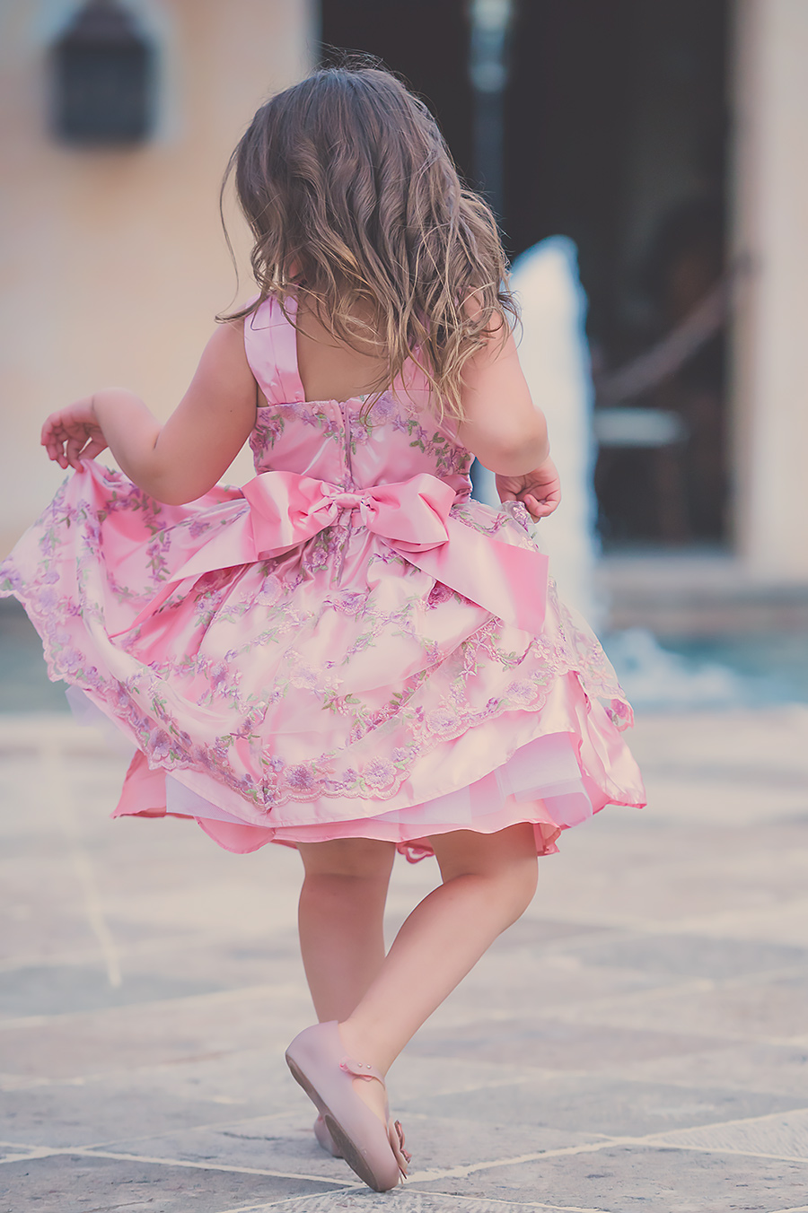 Jax Pink Dress Twirl