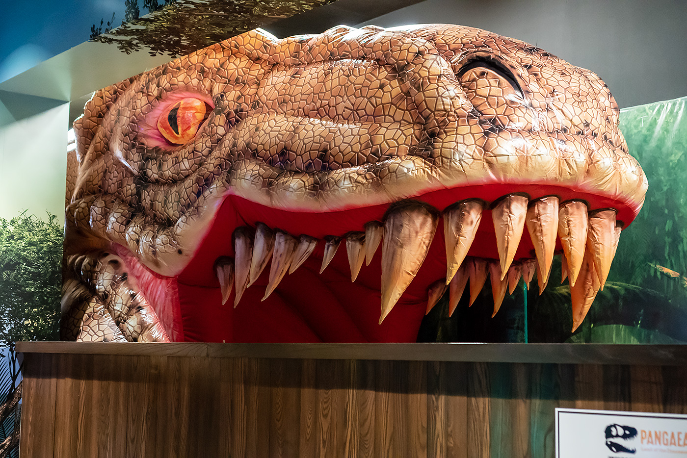 480744a283 This summer, don't miss out on the dino-mite fun Pangaea, Land of the  Dinosaurs. From realistic animatronic dinosaurs, to dino races, face  painting, ...