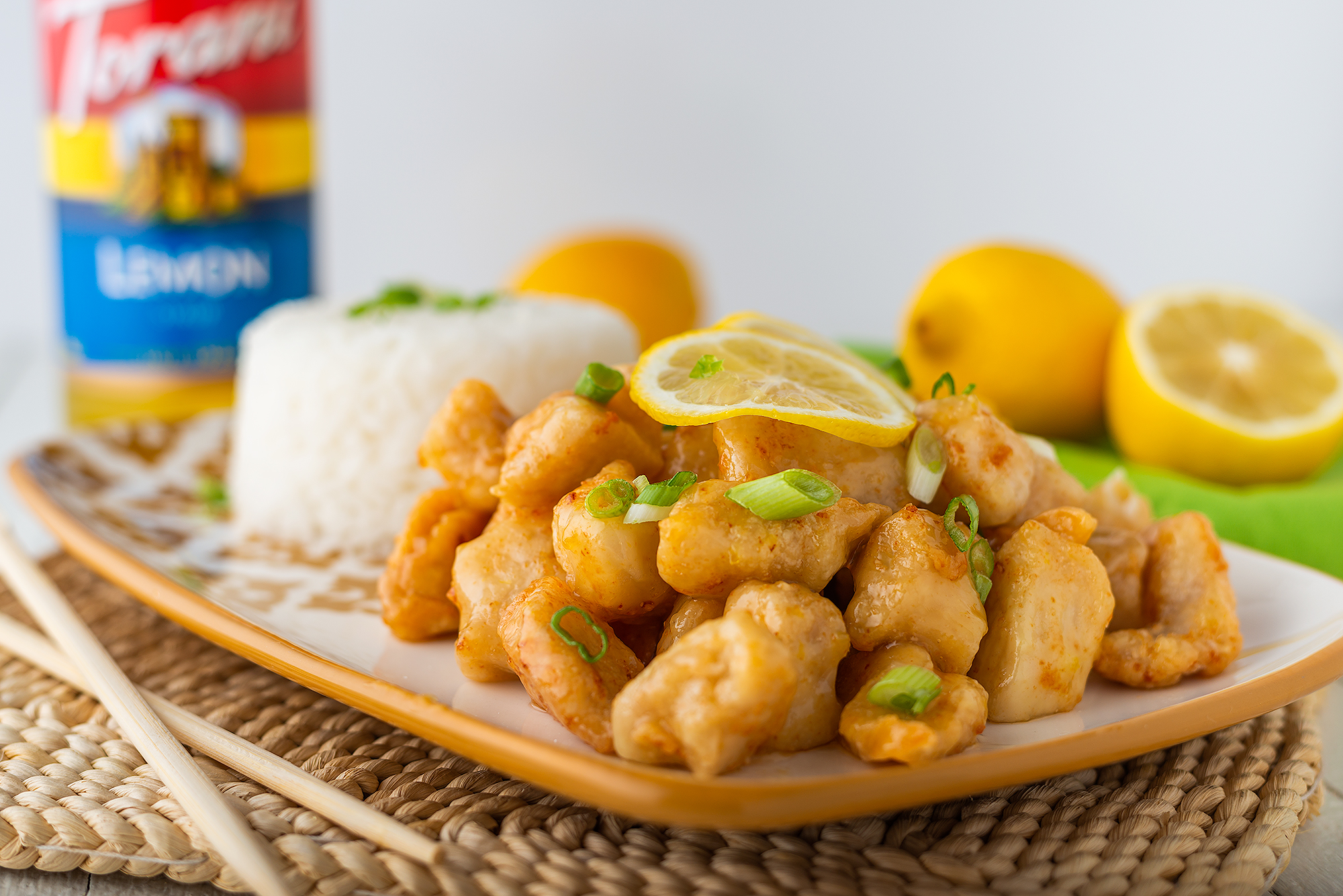 Torani Lemon Chicken Horizontal