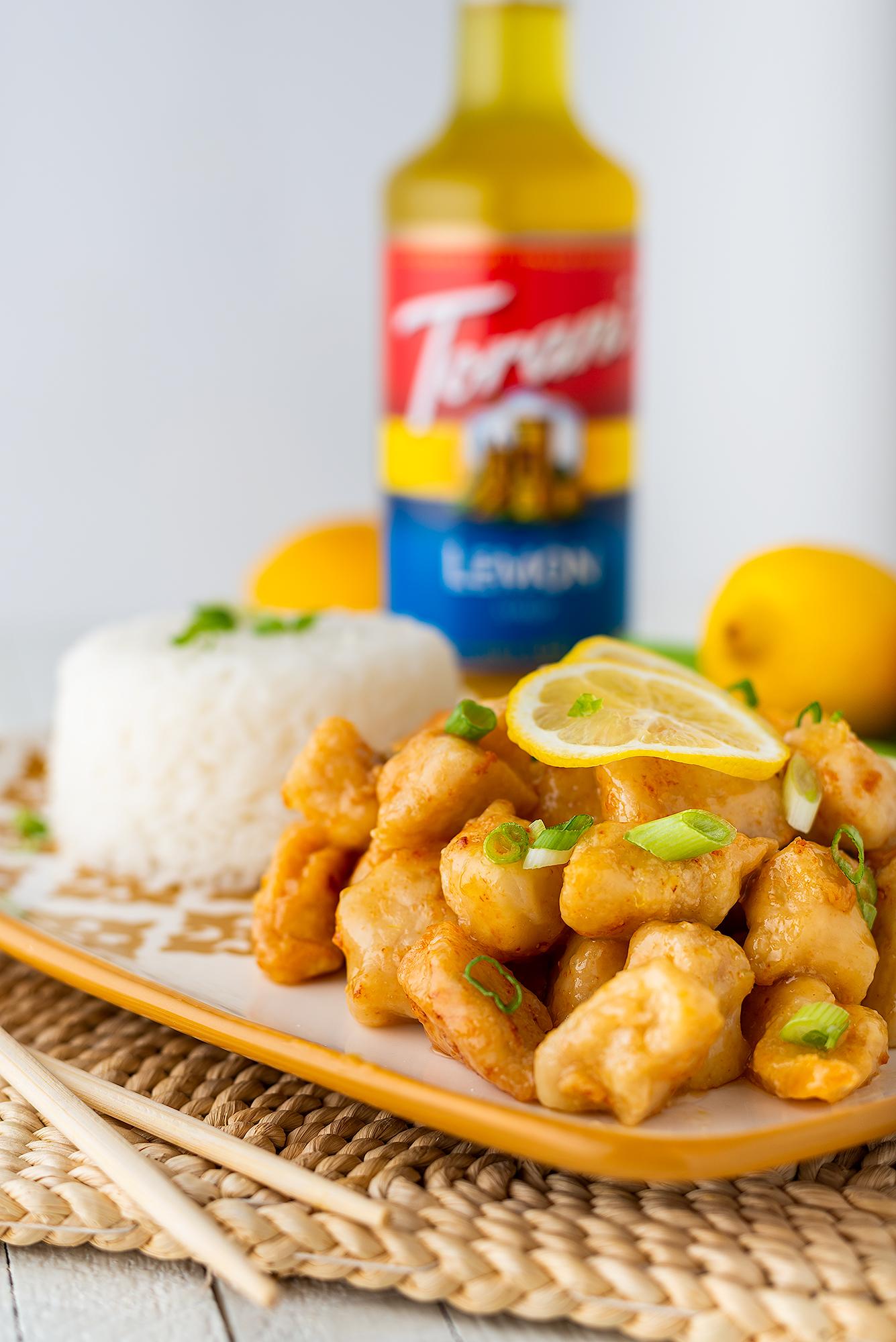 Torani Lemon Chicken Vertical