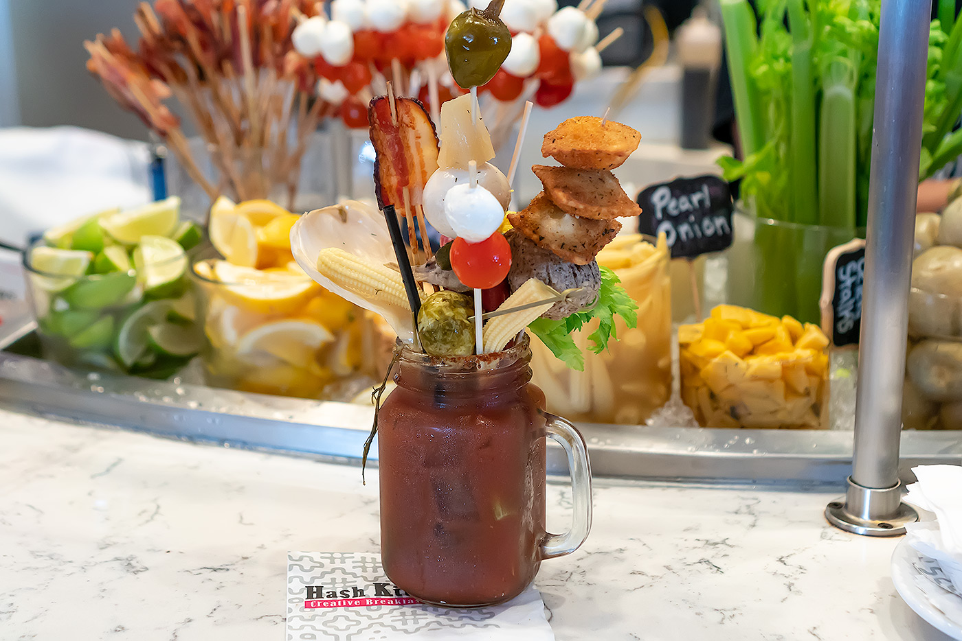 Bloody Mary Bar Hash Kitchen